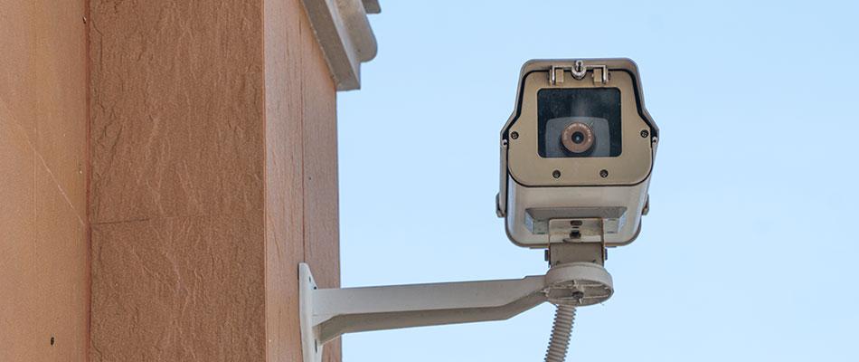 Grabaciones de cámaras de videovigilancia en la comunidad de propietarios